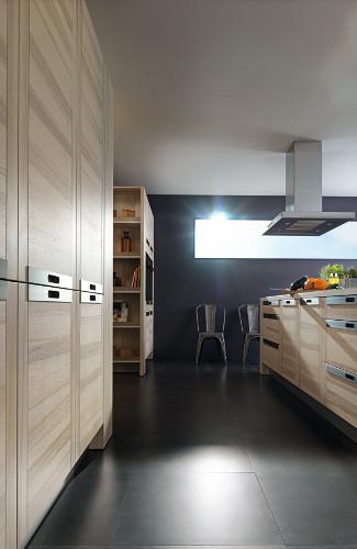 cuisine-bois-poignees-metal-attitude