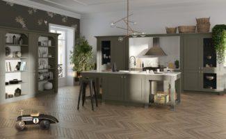 cuisine moderne mod le m moire. Black Bedroom Furniture Sets. Home Design Ideas