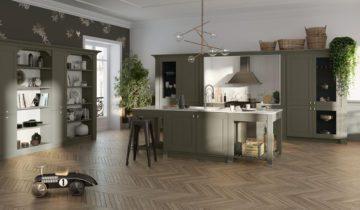 cuisines quip es cuisines am nag es cuisine moderne design bois. Black Bedroom Furniture Sets. Home Design Ideas