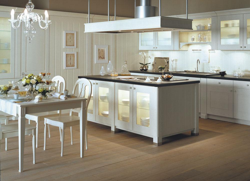 Cuisine po sie blanche design v ronique mourrain ligne signatures - Modele de cuisine blanche ...