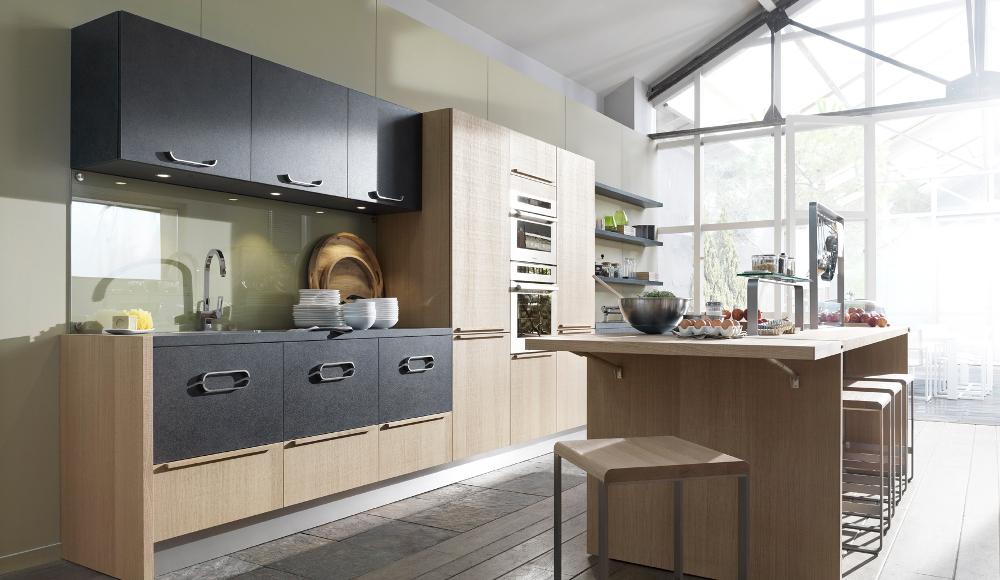 Cuisine design avec lot m tisse par thibault desombre - Modele plan de travail cuisine ...
