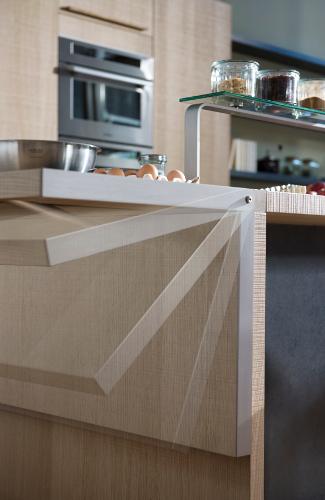 Cuisine design avec lot m tisse par thibault desombre for Cuisine en bois design