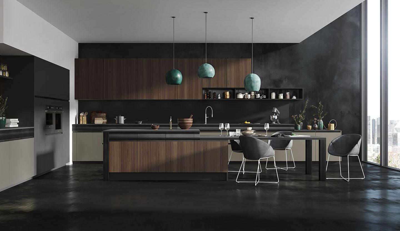Une cuisine design empreinte de sensualité - Modèle Rendez-vous