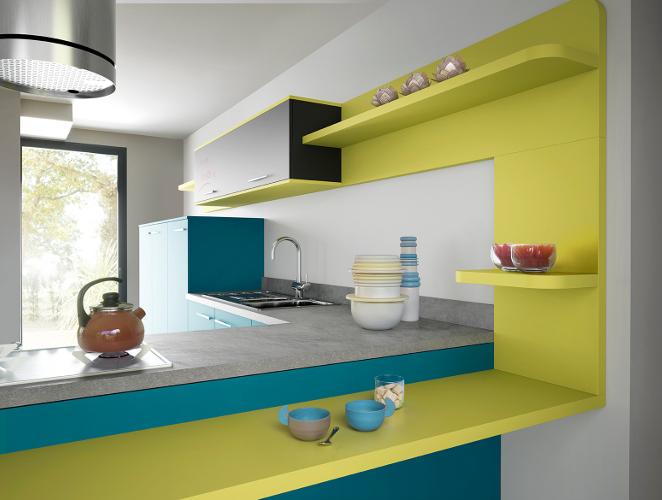 Cuisine En U Petite Surface: Petite cuisine amenagement conseils plans ...