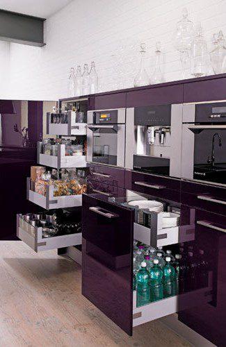 rangements ergonomiques violets rive droite