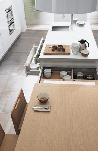 table en bois cuisine design rendez-vous