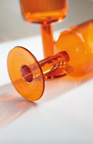 verre de cuisine orange rive gauche