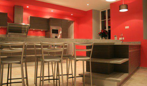 Inspirations de cuisine inspirations de cuisines - Cuisine bois rouge ...