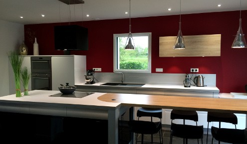 cuisine am nag e r alisations la roche sur yon. Black Bedroom Furniture Sets. Home Design Ideas