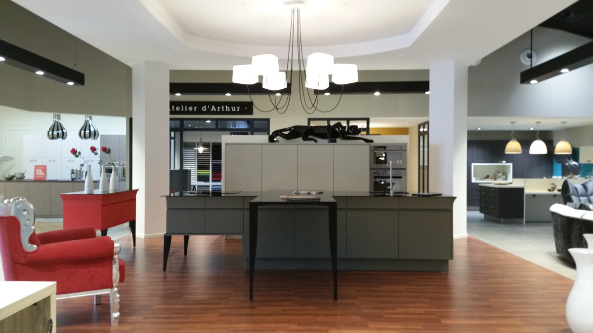 Magasin de cuisine chambray l s tours arthur bonnet Cuisines equipees