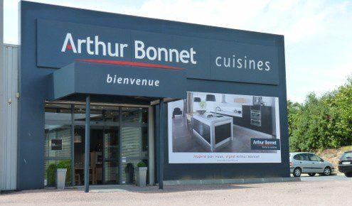 magasin cuisines cuisiniste Arthur Bonnet caen