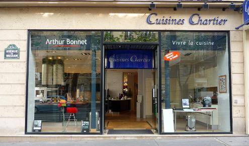 Cuisiniste Paris 17ème - Cuisine équipée Arthur Bonnet