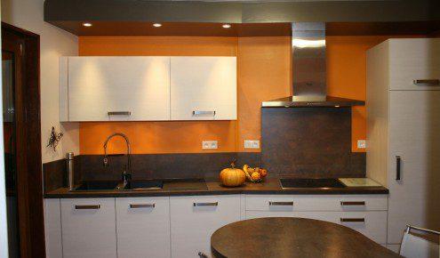 Peinture Mur Cuisine Credence Marron Solutions Pour La D Coration Int Rieure De Votre Maison
