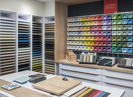 entrez dans l atelier d arthur un espace de creation inedit au coeur de votre magasin