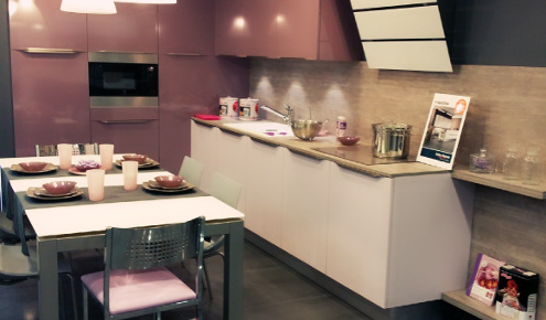 Cuisine Violette Great Cuisine Moderne Mauve Nice Cuisine