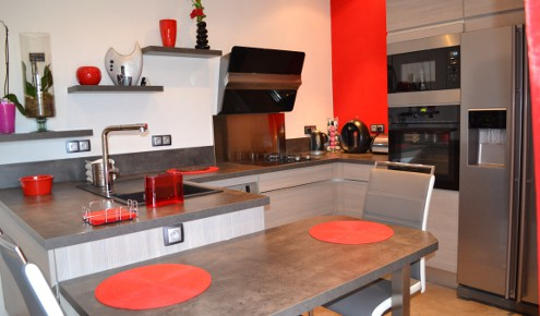 Cuisine am nag e r alisations aix en provence for Amnagement cuisine en u