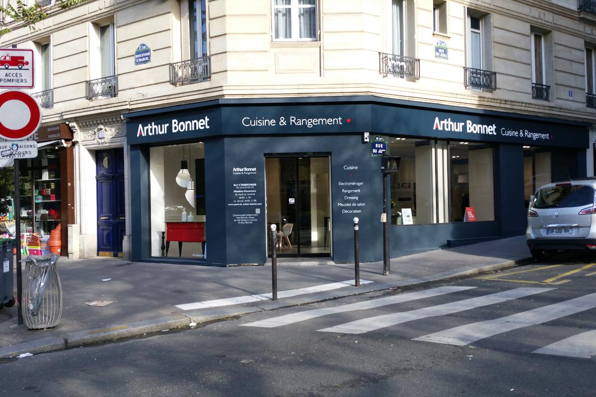 Cuisiniste paris 13 me cuisine quip e arthur bonnet - Magasin de the paris ...