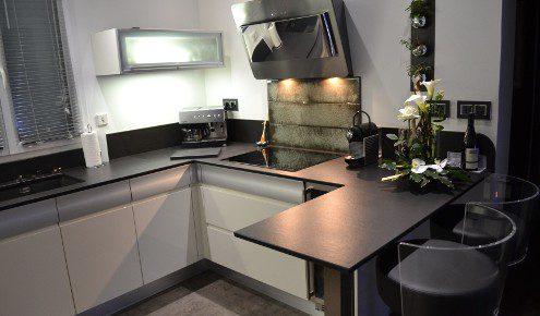 cuisine design blanche avignon