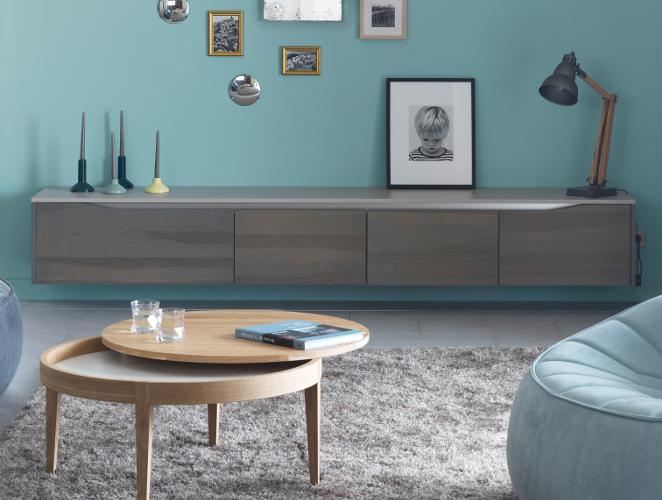 meuble rangements salon dialogue