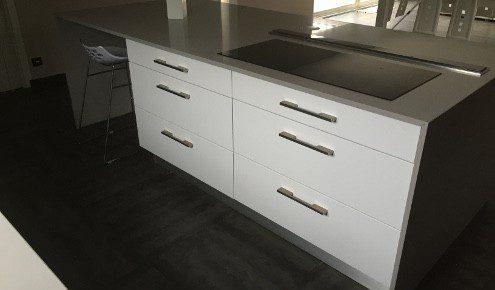 meubles de cuisine blancs ales