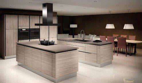 cuisine moderne avec deux ilots lille-englos
