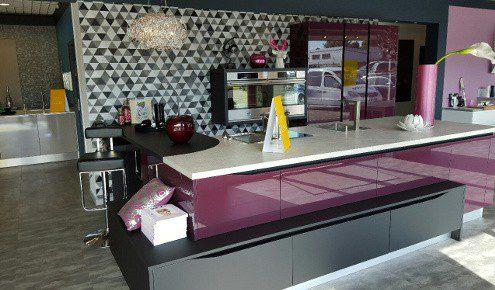 cuisine design violette strasbourg