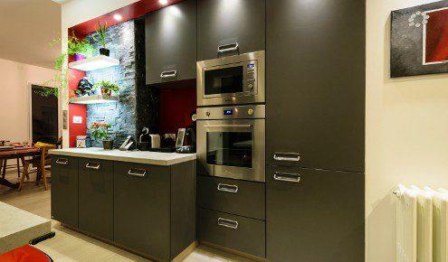 cuisine moderne grise chambray-les-tours