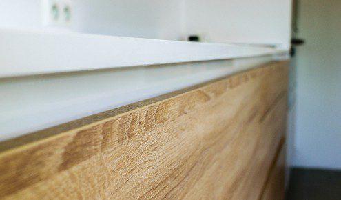 meubles de cuisine en bois chambray