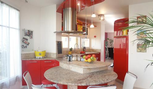 cuisine rouge yerres