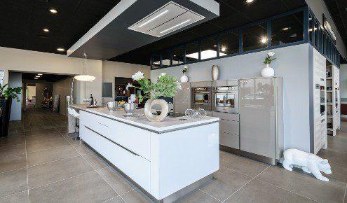 ilot de cuisine blanc chambray-les-tours
