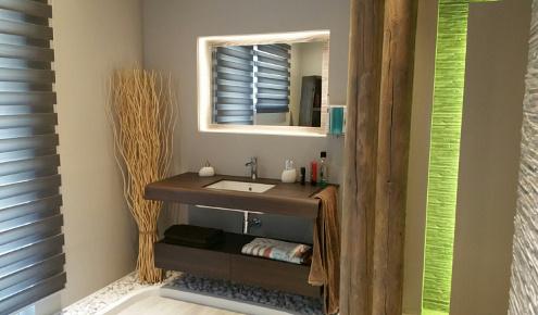 salle de bains contemporaine cannes
