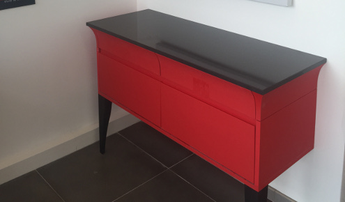 commode rouge montpellier