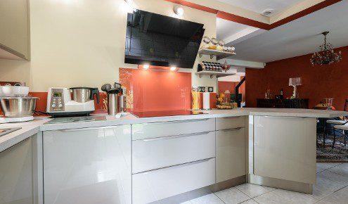 cuisine poignees integrees chambray