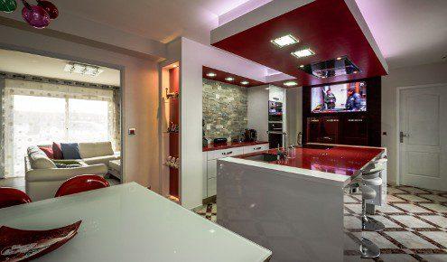 cuisine rouge chambray-les-tours
