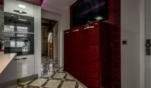 meuble TV rouge chambray-les-tours