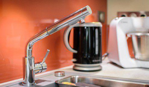 robinet de cuisine design chambray