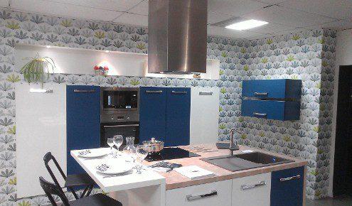 cuisine moderne bleue bressuire