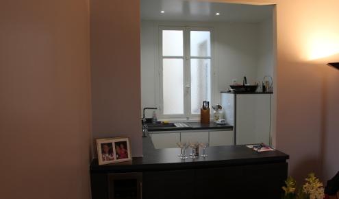 cuisine semi-ouverte paris 7