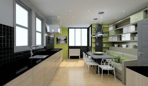 cuisine am nag e r alisations paris 6 me. Black Bedroom Furniture Sets. Home Design Ideas