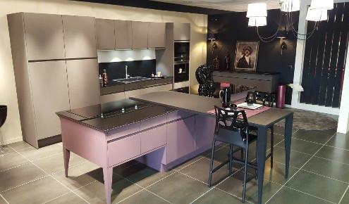 cuisine violette laque mate lorient