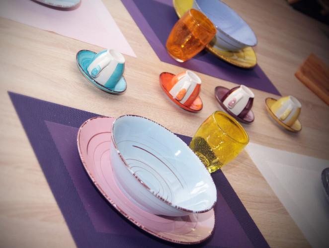 vaisselle couleurs pastel yssingeaux