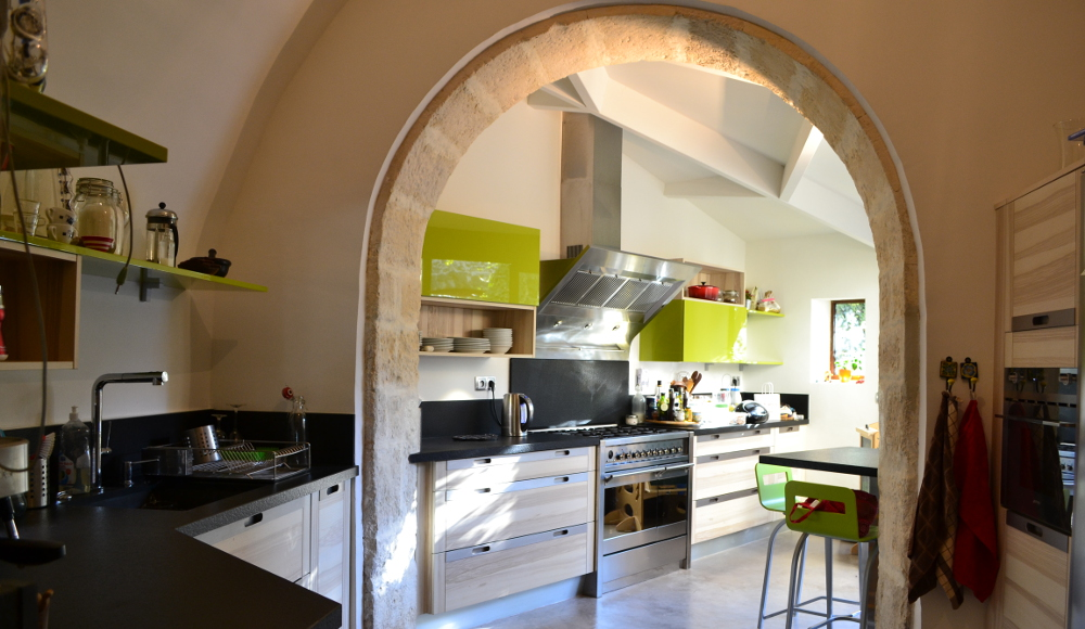 Best cuisine de charme en longueur with cuisine en i for Plan cuisine en longueur