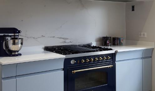 cuisine credence marbre ermont