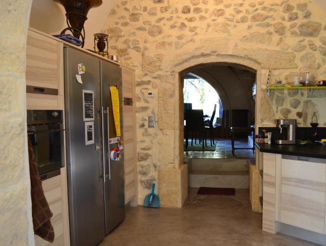 cuisine design bois avignon