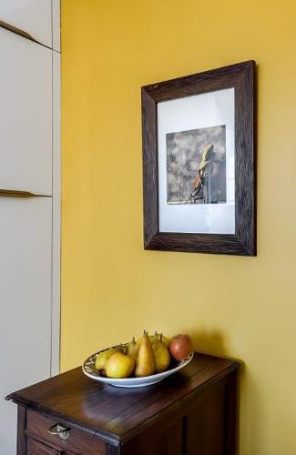decoration cuisine jaune paris 17