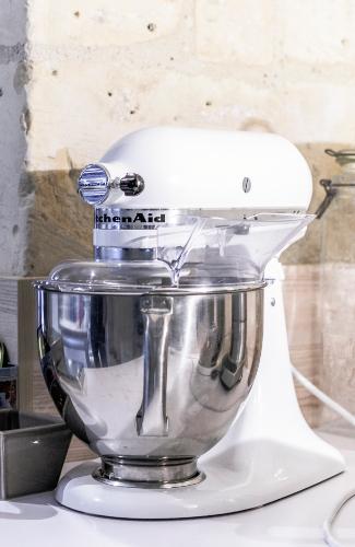 robot kitchenaid blanc tours