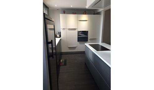 cuisine equipee moderne blanche toulouse