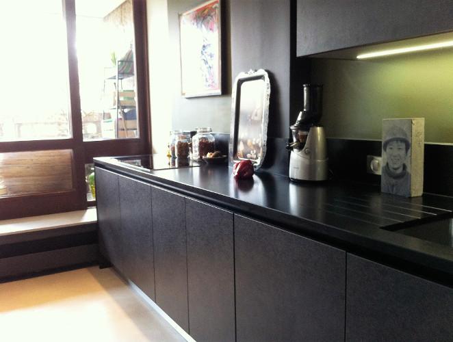 cuisine moderne de style industriel mod232le arp232ge