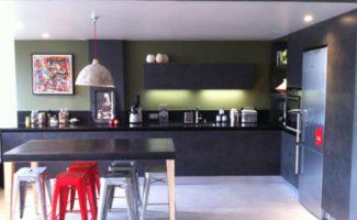 cuisine moderne style industriel paris 7