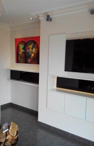 meuble TV blanc roche-sur-yon